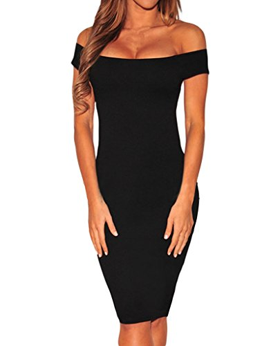 Shawhuwa-Womens-Sexy-Criss-Cross-Off-Shoulder-Bodycon-Party-Club-Midi-Dress