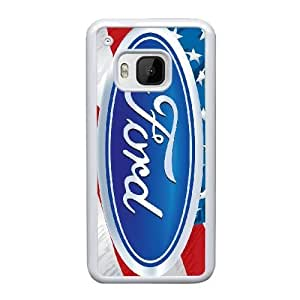 HTC One M9 Cell Phone Case White Ford YT3RN2536137