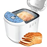 Bread Maker - Bread Machine Automatic Bread Maker with 3 Loaf Sizes(1/1.5/2LB), 15-Hour