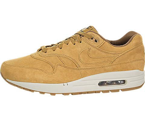 Nike Air Max 1 Premium, Wheat / Light Bone, 9.5 M US