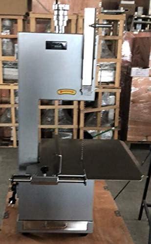 Aserradora de huesos congelados industrial cuerpo en acero anodizado nuevas