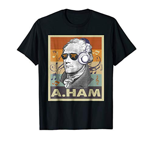 Hamilton T-Shirt Hamilton and Headphone Gift For Fans