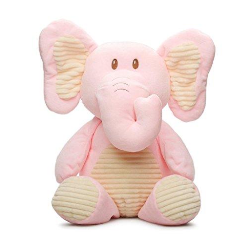 - Kellybaby 20 Plush Elephant Rattle (Pink)