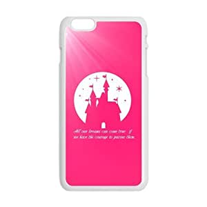 Dreams Walt Disney Quote Case Cover for Personalized Case for Personalized iphone 6 (Laser Technology) Screen iPhone Strong Protect Case-01