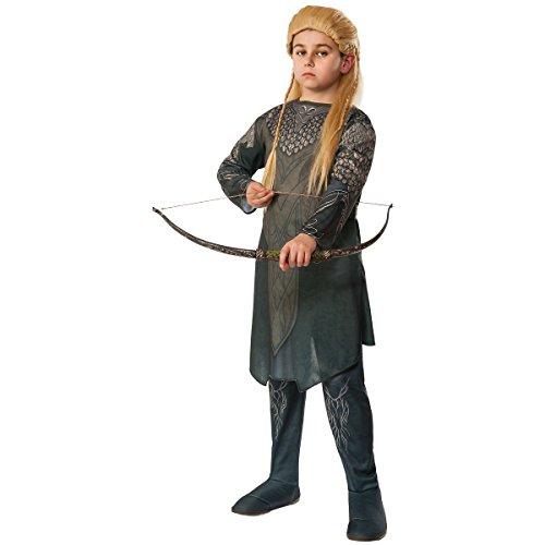The Hobbit: Desolation of Smaug, Child Legolas Costume, Medium - Medium One Color -