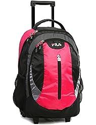 Fila Volt Laptop Rolling School Backpack, Fuchsia