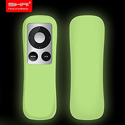 SIKAI® New Patent Apple TV 3Gen Remote case Non-Slip-Grip & Secure for Apple TV 3Gen Remote Ergonomic design Dustproof Silicone case for Apple TV remote control case Old Apple TV upgraded case