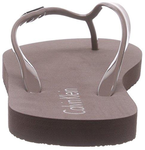 Calvin Klein Underwear Flip Flop, Lencería para Mujer Beige