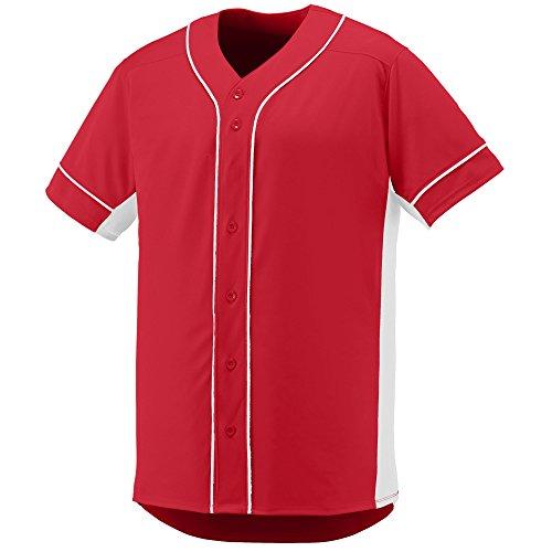 Augusta Sportswear Men's Slugger Baseball Jersey L Red/White