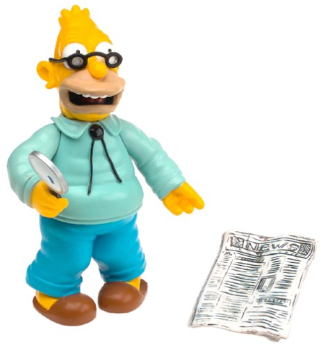 The Simpsons Wave 1 Action Figure Grampa Abe Simpson