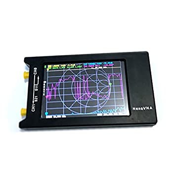 Image of Spectrum Analyzers AURSINC Vector Network Analyzer 50KHz-1.5GHz HF VHF UHF Antenna Analyzer Measuring S Parameters, Voltage Standing Wave Ratio, Phase, Delay, Smith Chart with 4 Inch LCD Display 1950mAh 4.2 Version