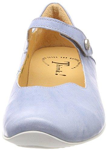 alla Cinturino 77 Cristal Kombi con Caviglia 282107 Think Ballerine Donna Blu Chilli qwXOXZ4