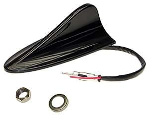 Adaptador de Universe/® Shark antena Tibur/ón techo peque/ño con Socket de autom/óviles coche radio