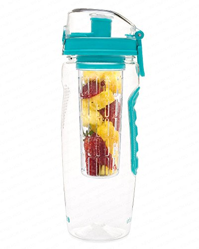 best-fruit-infused-water-bottle-large-32-oz-teal-infusion-h2o-more-color-options
