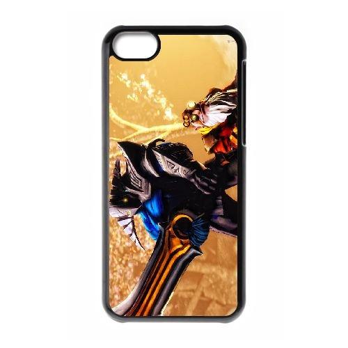 Sven coque iPhone 5c cellulaire cas coque de téléphone cas téléphone cellulaire noir couvercle EEECBCAAN07508