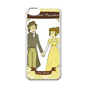 Austen Happy iPhone 5c Cell Phone Case White 05Go-177434