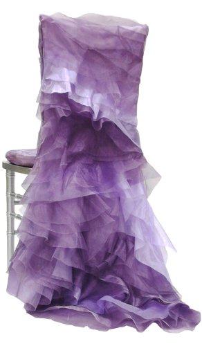 Wildflower Linen Juliet Chiavari Chair Sleeve, Lavender