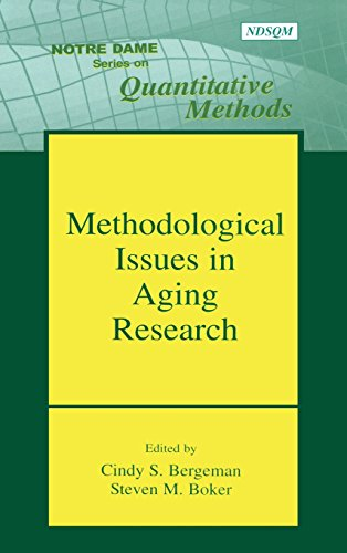 Methodological Issues in Aging Research (Notre Dame Series on Quantitative Methodology) (Latent Growth Curve)