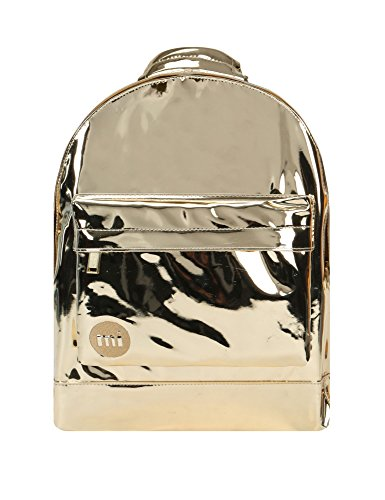 Mi-Pac Women's Mini Mirror Backpack In Gold Gold by Mi-Pac