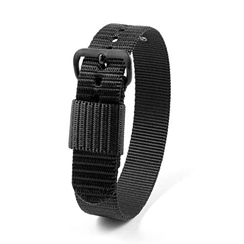 Image of Marathon Ballistic Nylon Watch Band, Military Grade with Stainless Steel,