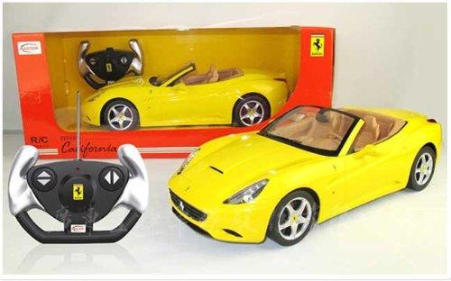 1/12 Scale Ferrari California Convertible Radio Remote Control Sport Car RC RTR Official Liciense Model (Color: - Official Color Ferrari
