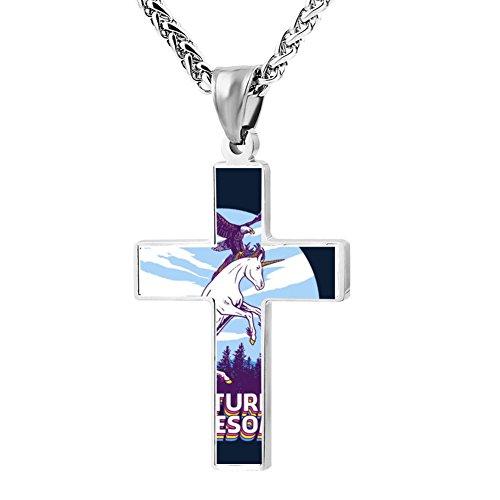 Kenlove87 Patriotic Cross Nneptune Splash Sailor Religious Lord'S Zinc Jewelry Pendant (Easy Pop Culture Costumes)