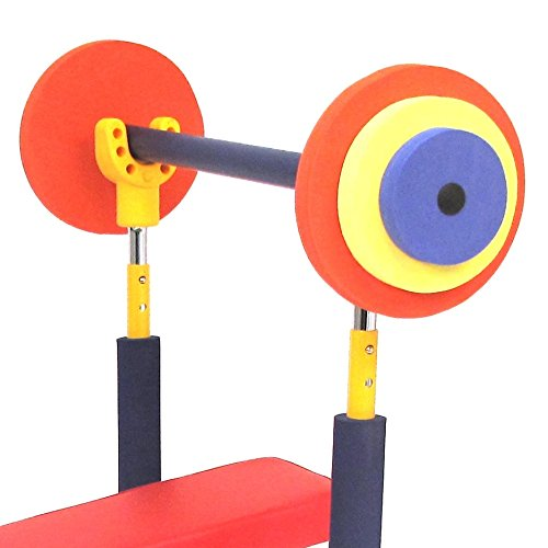 Redmon fun and fitness exercise equipment for kids weight bench set desertcart Kids weight bench
