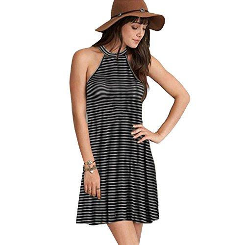 Drawstring Halter Dress - 5