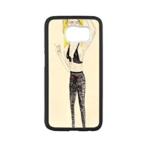 Samsung Galaxy S6 Cell Phone Case Black Sailor and Lula Wild at Heart X5X9IM