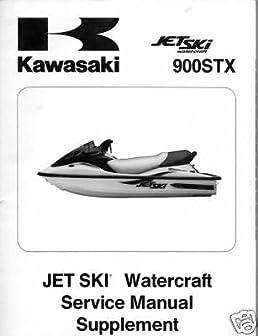 2001 kawasaki jet ski 900stx service manual used manufacturer rh amazon com kawasaki 900 stx service manual download 2000 kawasaki stx 900 service manual