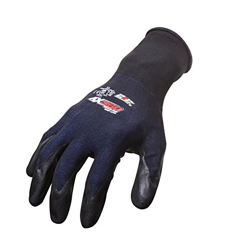 212 Performance Gloves AXGLT-05-012 AX360 Grip Lite Nitrile-dipped Work Glove, 12-Pair Bulk Pack, XX-Large by 221 Performance Gloves (Image #5)