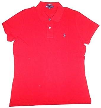 Ralph Lauren Women\u0026#39;s Skinny Polo Pony Logo T-Shirt