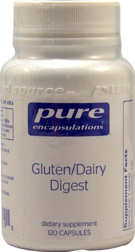 Pure Encapsulations Gluten-Dairy Digest -- 120 Capsules - 2PC by Pure Encapsulations