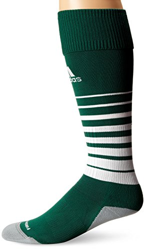 adidas Team Speed Soccer Socks (1-Pack), Forest/White, Medium