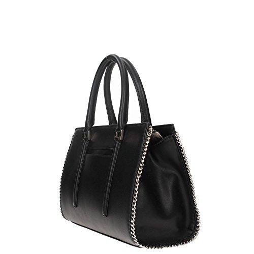Guess Johanna satchel tote black