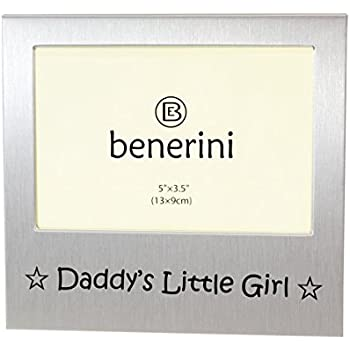 Amazon.com - benerini Daddy\'s Little Girl \' - Expressions Photo ...