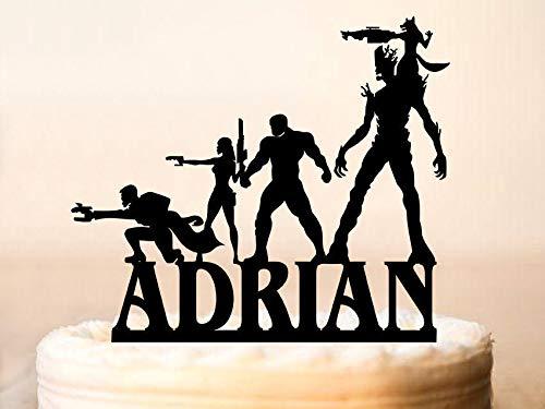 Decoración para tarta de Guardians, Guardianes de la Galaxia ...