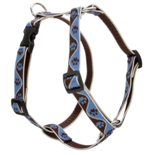 3 4-InchW; 12-20-Inch Girth Lupine 3 4-Inch Muddy Paws Roman Dog Harness, 12-Inch to 20-Inch Girth
