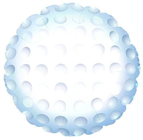 Golf Ball Sports Round Shaped 17 Inch Mylar