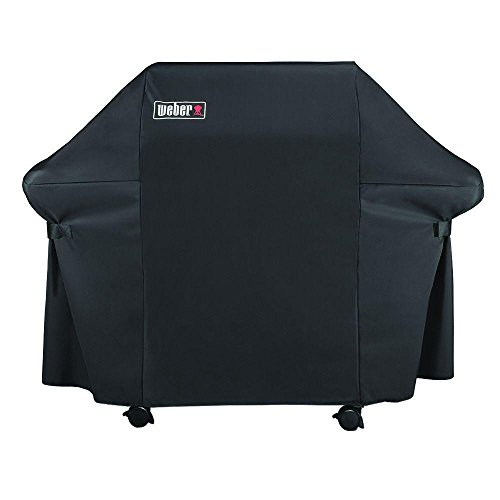 Weber 7107 Grill Cover (44in X 60in) with Storage Bag for Genesis Gas Grills