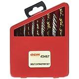 OEMTOOLS 45467 Bolt Extractor Set, 10 Piece