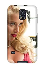 Keyi chrissy Rice's Shop Hot durable Protection Case Cover For Galaxy S5(amber Heard In Machete Kills)
