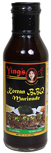 Glass Yings Korean BBQ Marinade Sauce, 12 Ounce (Best Korean Bbq Marinade Recipe)