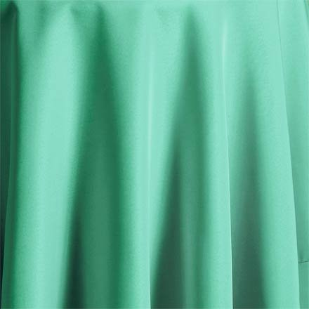 Bright Settings Fabric Sample - Flame Retardant Basic Polyester Solid Colors-Robins Egg Blue