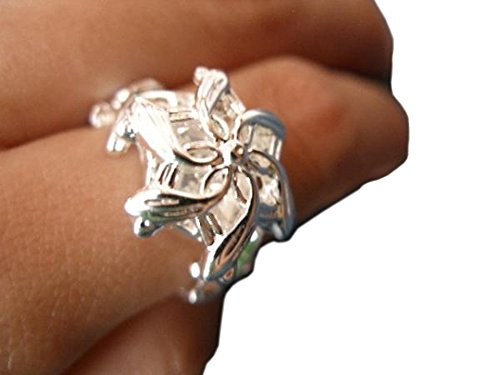 Lotr Galadriel Costume (Galadriel Ring Nenya Water Lotr Lord of the Rings Stainless Steel (US 7))
