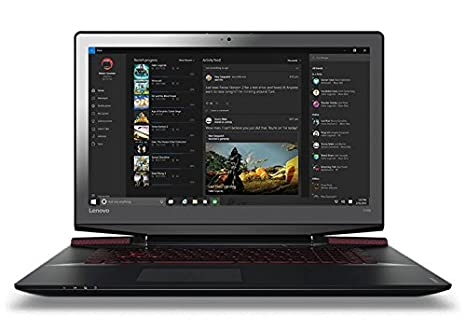 Lenovo IdeaPad y700 - 17isk 80rv0070ge Gaming Ordenador portatil 17.3 Pulgadas Full HD i5 - 6300hq 8 GB 128 GB SSD + HDD: Amazon.es: Informática