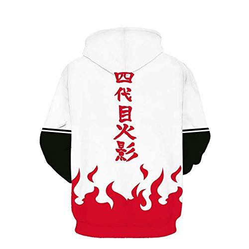 Naruto Drawstring Sweatshirt Lonimor Bolsillos De Hoodie Impresión Capucha xxxl 3d Tendencia Sra Jumper Sudadera Hombre Con Picture Pullover Xs Unisex BxfAxwa4q1