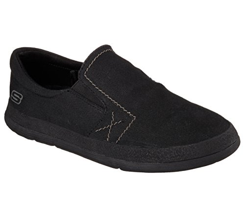 Skechers Mens Modig Delikat Svart