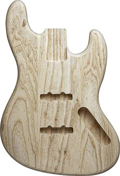 JAZZ BASS® BODY UNFINISHED ASH