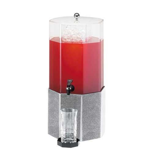 Cal-Mil (153-2) - 2 gal Octagonal Beverage (Octagonal Beverage Dispenser)